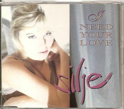 SILJE NYGAARD  I Need Your Love 3 TRACK 1991 CD single pat metheny