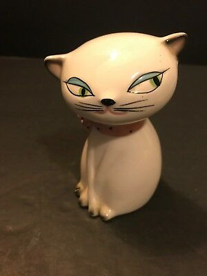 Vtg Holt Howard Salt Pepper Shaker Pink Kitty Cat Sound Box Replacement Shaker