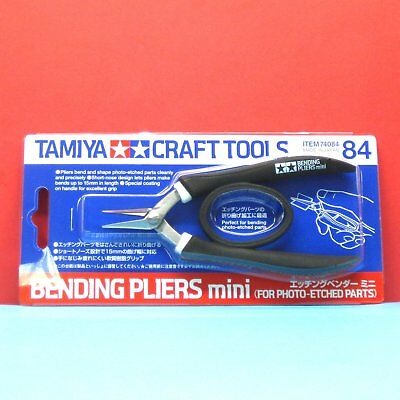Tamiya #74084 Bending Pliers mini For Photo-Etched Parts [Craft Tool]