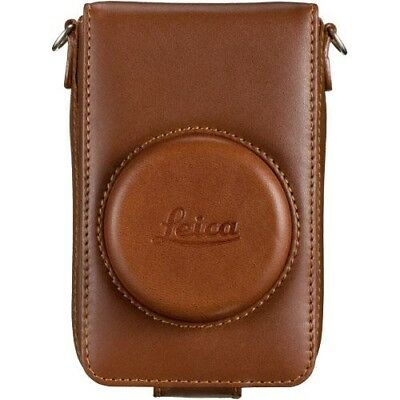 Leica Leather Case (Brown) D-LUX 4/5 NEW 18689 SALE shoulder strap included