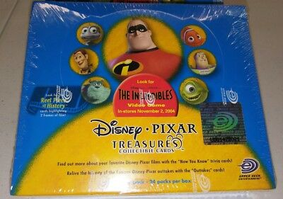 Disney Pixar The Incredibles Collectors Cards - NEW