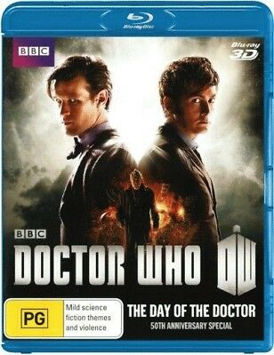 Doctor Who (2005): The Day of the Doctor (50th Anniversary Special) (3D Blu-ray)
