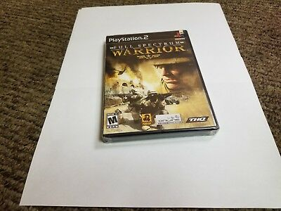 Full Spectrum Warrior (Sony PlayStation 2, 2005) new ps2