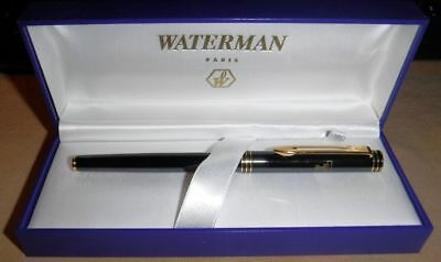 Waterman EXCLUSIVE Rollerball Pen Black Lacque TEXAS TECH gt new m dq