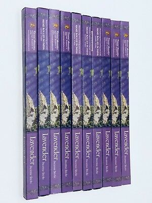 Lavender Incense Sticks x 80 value pack (HAND ROLLED) KAMINI