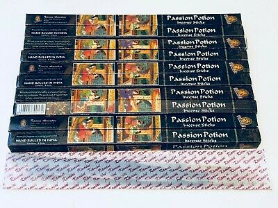 Passion Potion Incense Sticks x 80 Box (HAND ROLLED) KAMINI