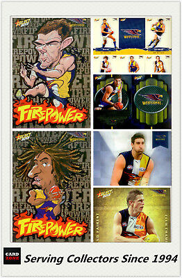 AFL Trading Card Master Team Collection-W.COAST-2013 Select AFL Champions