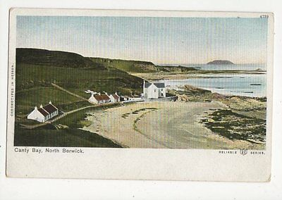 Canty Bay North Berwick Vintage Postcard 031a