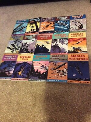 Biggles collection - 15 new paperbacks - Red Fox publishing