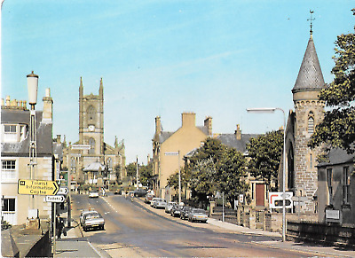 B93 - Thurso Caithness from bridge toward Town Square PSC 85946