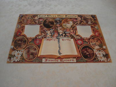 Victorian Family Certificate--Lot Of Five