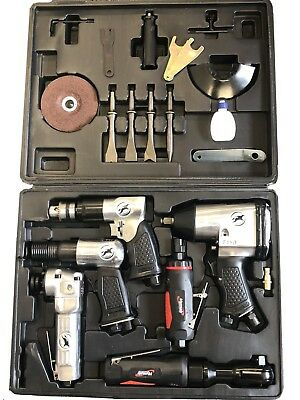 Rdgtools 20Pc Air Tool And Accessories Kit Metalwork, Drilling, Engineering