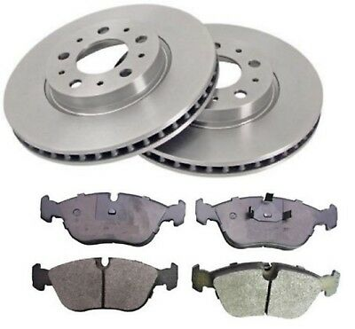 OEM SPEC FRONT AND REAR DISCS PADS FOR VOLVO C70 2.3 TURBO T5 1997-05