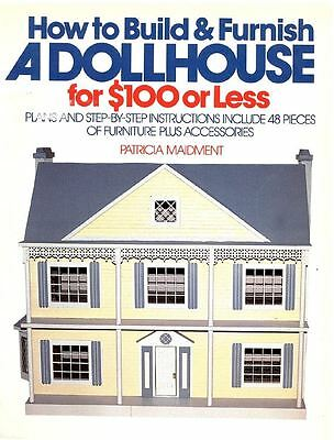 How to Build & Furnish a Dollhouse for $100 or Less - Puppenhaus-Buch