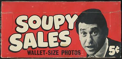 1967 Topps Soupy Sales 5-Cent Display Box