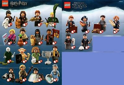 LEGO 71022 Harry Potter & Fantastic Beasts Minifiguren zum aussuchen