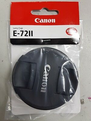 Genuine Canon E-72II lens cap new UK