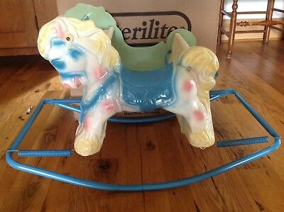 Vintage Wonder Shoo Fly Design Rocking Horse
