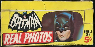 1966 Topps Batman Real Photos 5-Cent Display Box