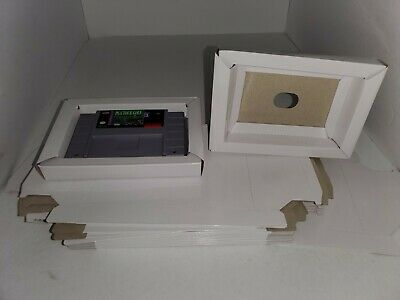 5 NEW Replacement  Full Size Cardboard Tray  insert for Super Nintendo SNES R29