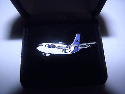 Collectible Fedex Air Bus A 310 Airplane Lapel Tack Pin Pilot F/a Christmas Gift