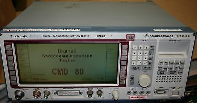 Tektronix Rohde & Schwarz CMD80 Digital Radio Communication Tester CMD 80 AWGN
