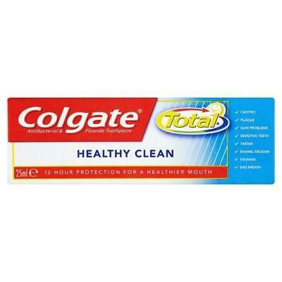 Colgate Total Healthy Clean Mini Toothpaste 25ml travel size