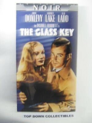 The Glass Key   Brian Donlevy, Veronica Lake, Alan Ladd VHS Movie