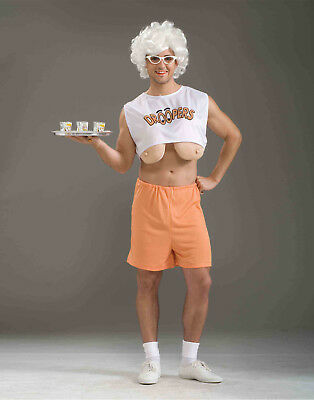 596d81502d9 DROOPERS RETIRED HOOTERS Girl Old Funny Fancy Dress Up Halloween ...