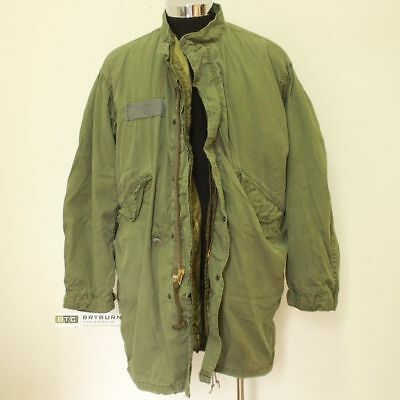 US Issue M65 Fishtail Parka with Liner - Size Medium - Genuine US Army Issue