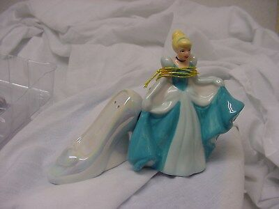 Cinderella and Glass Slipper Magnetic Ceramic Salt & Pepper Shakers - Westland