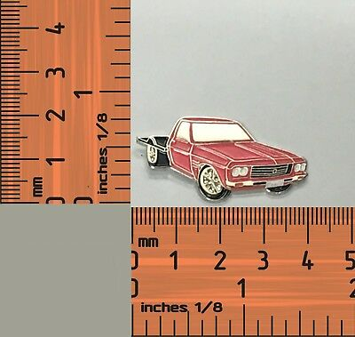 Holden 1 Tonner Red Trayback Lapel Pin Badge