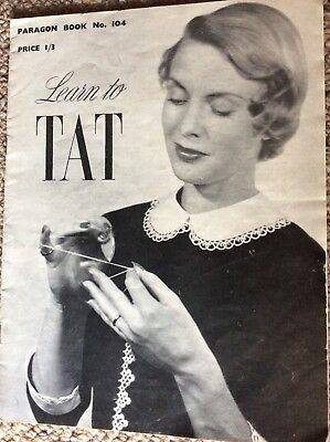 Vintage Paragon Book No. 104 Learn to Tat