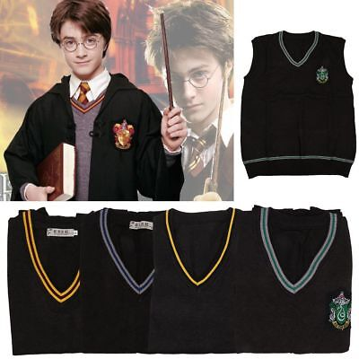 Harry Potter Chandail Gryffondor Cosplay Gilet de Costume de Serpentard