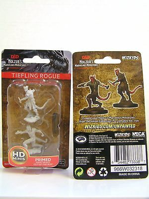 WZK73338 - D&D Nolzur's Marvelous - Unpainted Miniatures Tiefling Male Rogue