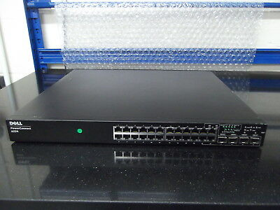 Dell PowerConnect 6224 24-port Gig Layer 3 Switch SFPs Slightly Distorted
