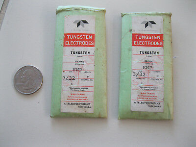 Teledyne tungsten electrodes 3/32 dia. x 3 inches long