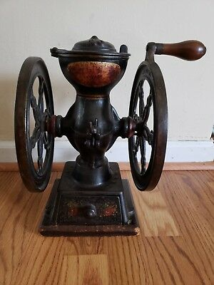 Antique Landers,Frary & Clark Coffee Grinder No.20 original paint Oct.1,1901