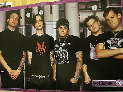 Good Charlotte, Two Page Centerfold Poster