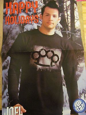 Joel Madden, Good Charlotte, Clay Aiken, Double Two Page Centerfold Poster