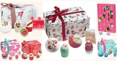 Bomb Cosmetics Christmas Advent Calendar & Luxury Wrapped Handmade Gift Sets