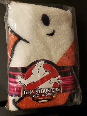 """New In Package HTF Ghostbusters Collector Logo Doormat 24"""""""