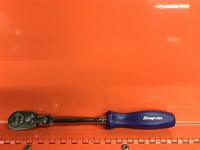 """Snap On Tools  1/4"""" Drive THLFD72 Swivel Head Ratchet. New Cond"""