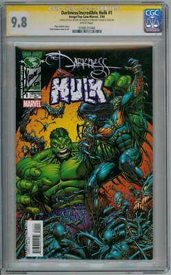 Darkness Incredible Hulk #1 Cgc 9.8 Signature Series Signed Dale Keown Marvel
