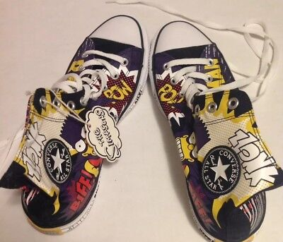 Converse Chuck Taylor NEW All-Star Simpsons Bartman Sneakers 9 Men's All-Stars
