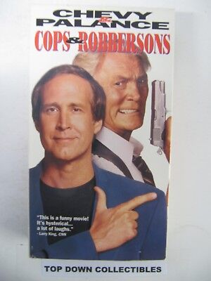 Cops & Robbersons,  Chevy Chase, Jack Palance    VHS Movie