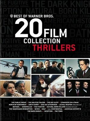 NEW - Best of Warner Bros. 20 Film Collection Thrillers (DVD)