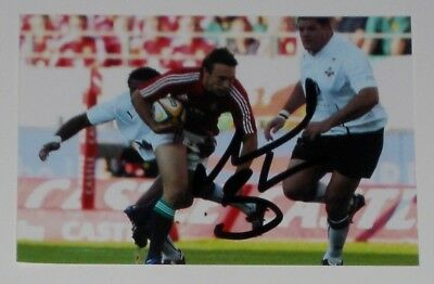 Mike Blair British Lions Rugby Personally Hand Signed Autograph Photo