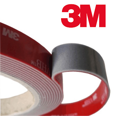 3M™ VHB™ Double Sided Acrylic Foam Tape Heavy Duty Mounting Tape Grey 1-5m rolls