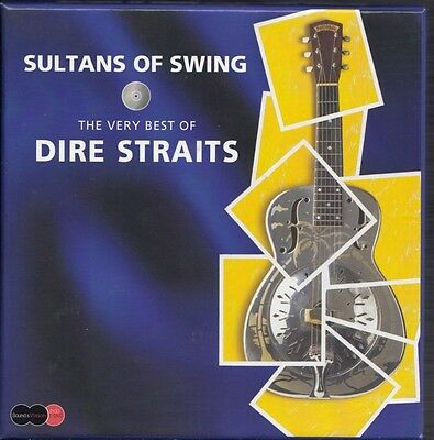 DIRE STRAITS Sultans Of Swing 3-DISC BOX 2 AUDIO & 1 DVD INCLUDING LIVE CD
